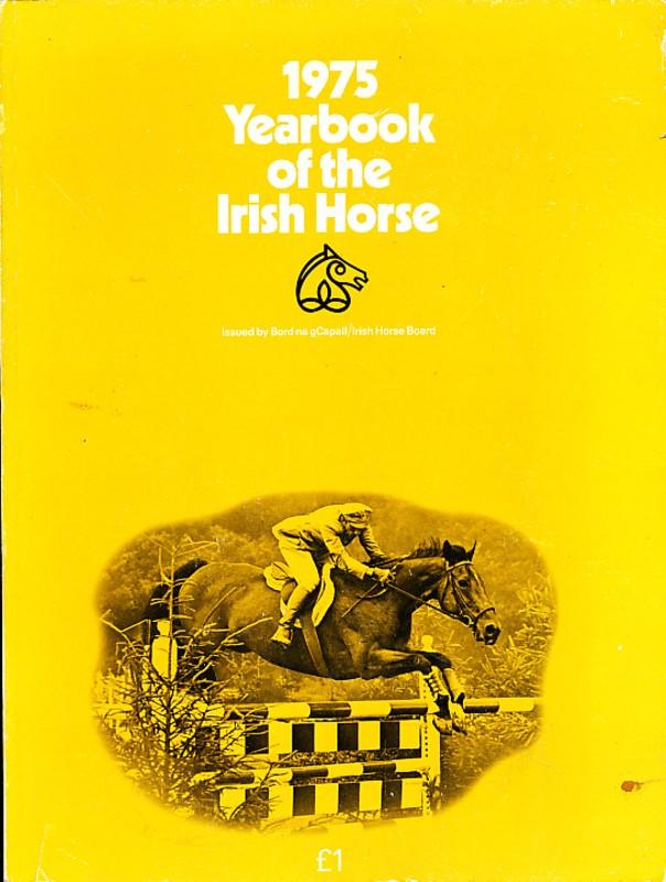 1975 Yearbook of the Irish Horse