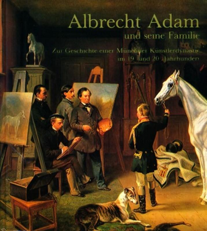 Albrecht Adam und seine Familie