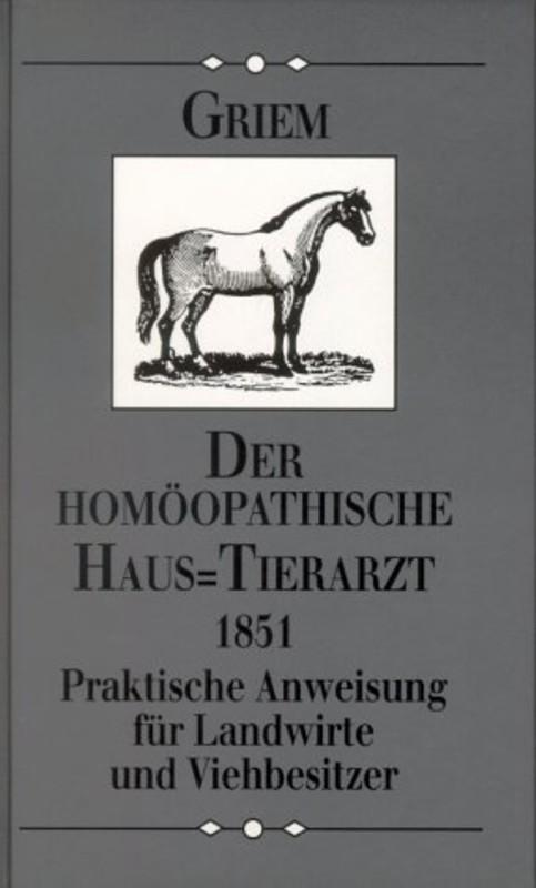 Der homöopathische Haustierarzt