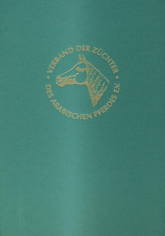 Deutsches Stutbuch für Arabische Vollblüter VI VII