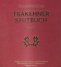 Gesamtdeutsches Trakehner Stutbuch Band I