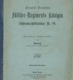 Geschichte der ersten 25 Jahre des Königlich Preußischen Füsilier-Regiments