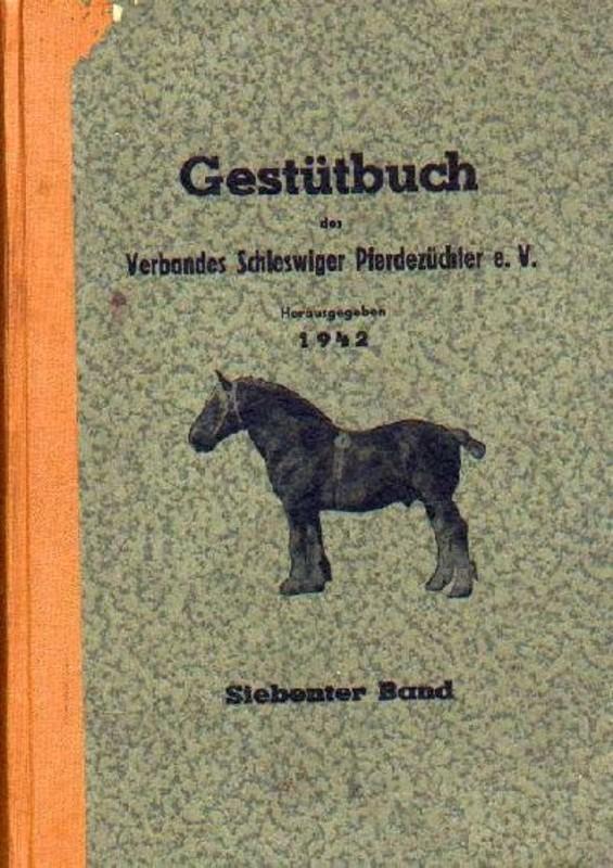 Gestütbuch des Verbandes Schleswiger Pferdezüchter