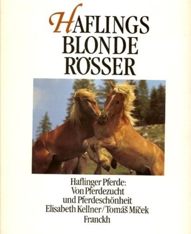 Haflings blonde Rösser