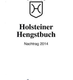 Holsteiner Hengstbuch Nachtrag 2014