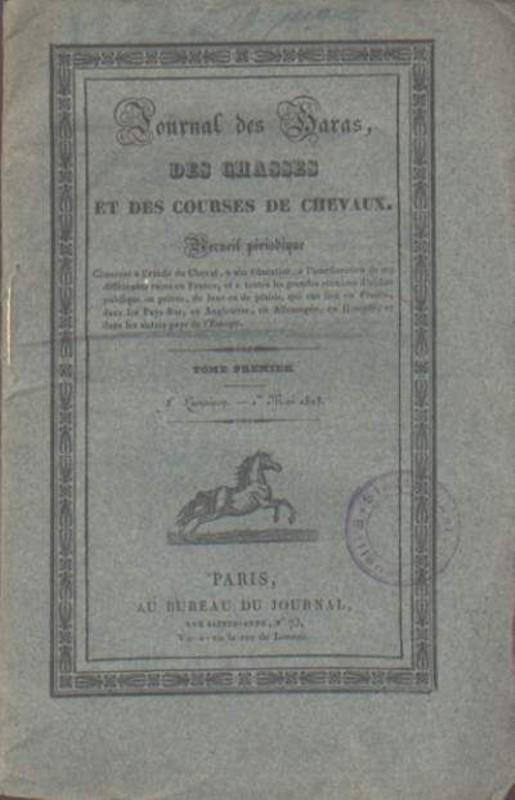 Journal des Haras, des Chasses et des courses de chevaux