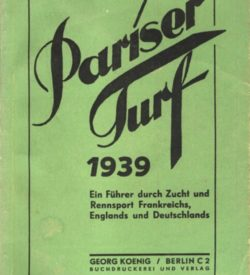 Pariser Turf 1939