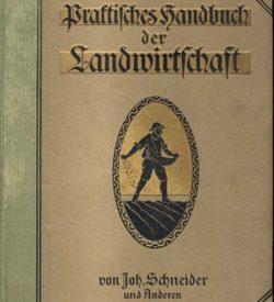 Praktisches Handbuch der Landwirtschaft
