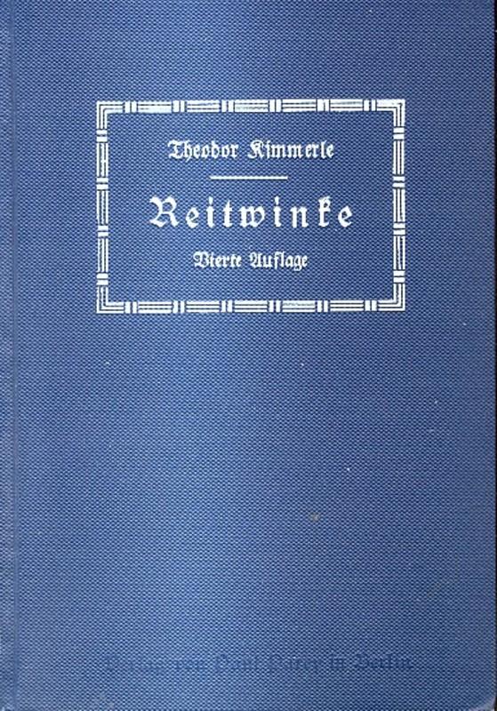 Theodor Kimmerle Reitwinke