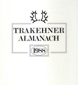 Trakehner Almanach 1988
