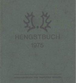 Trakehner Hengstbuch 1975