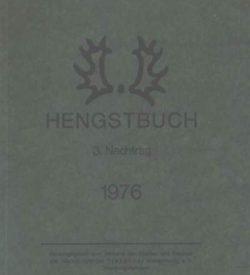 Trakehner Hengstbuch 1976