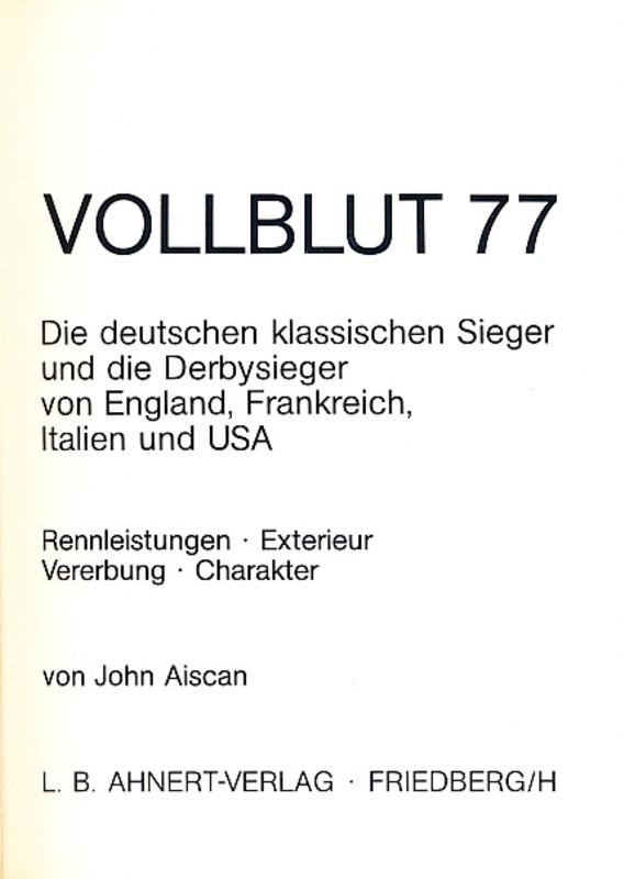 Vollblut 77