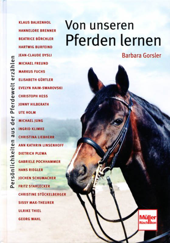 Von unseren Pferden lernen