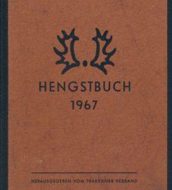 Trakehner Hengstbuch 1967