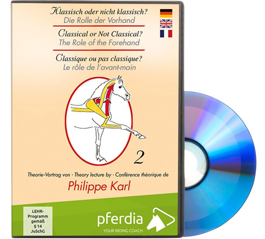 Die Rolle der Vorhand Philippe Karl