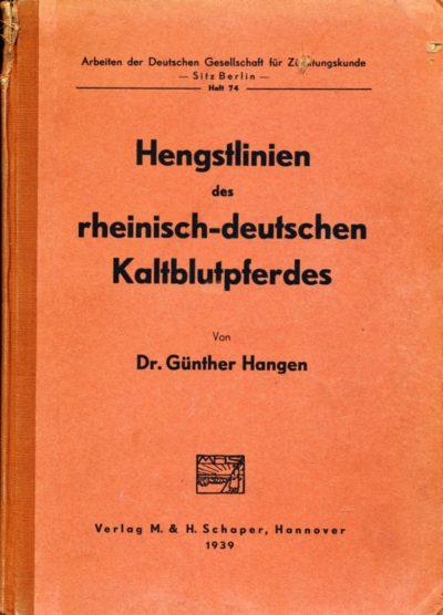 Hengstlinien des rheinisch-deutschen Kaltblutpferdes