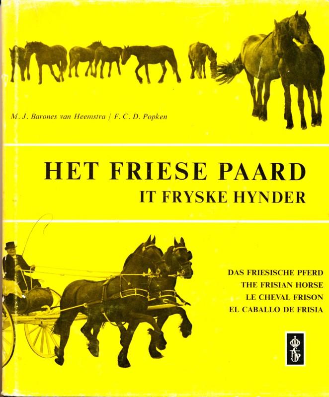 Het Friese Paard it fryske Hynder