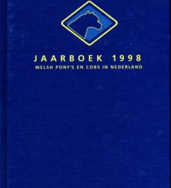 Jaarboek 1998 Welsh Ponys en Cobs in Nederland