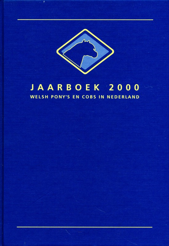 Jaarboek 2000 Welsh Ponys en Cobs in Nederland