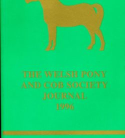 The Welsh Pony and Cob Society Journal 1996