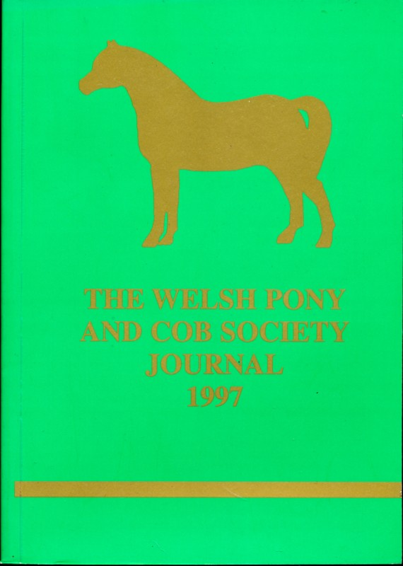 The Welsh Pony and Cob Society Journal 1997