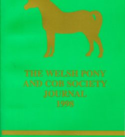 The Welsh Pony and Cob Society Journal 1998
