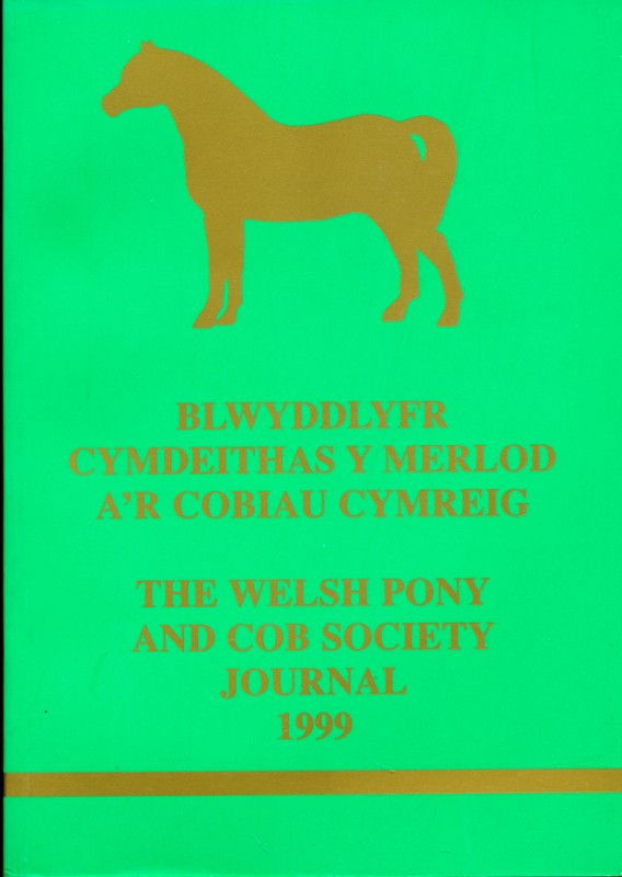 The Welsh Pony and Cob Society Journal 1999