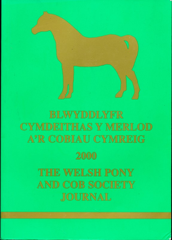 The Welsh Pony and Cob Society Journal 2000