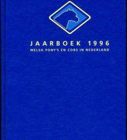 Welsh Ponys en Cobs in Nederland Jaarboek 1996
