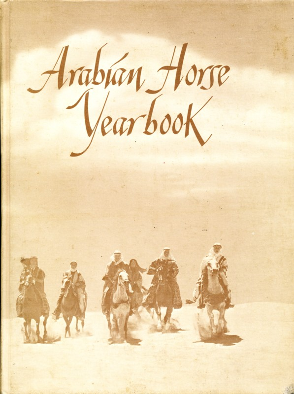 Arabian Horse Yearbook 1977