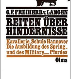 Reiten über Hindernisse Freiherr von Langen